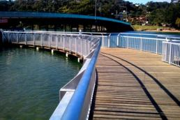 composite decking South Brisbane walkway