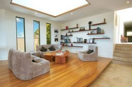 Structural Pine Sunshine Coast - open plan living room