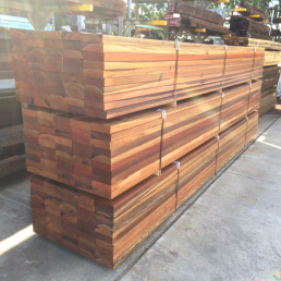 hardwood timber sleepers South Brisbane milled wood