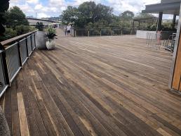 merbau decking brisbane - brown deck