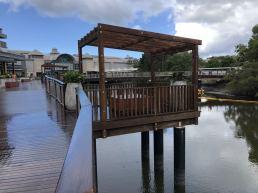 Fencing Sunshine Coast deck on water