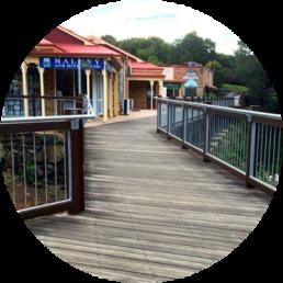 ironbark decking - grey deck