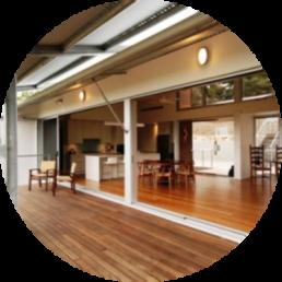 Timber Supplies Brisbane - modern deck