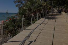 merbau decking beach deck walkway