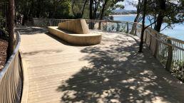hardwood timber - noosa boardwalk
