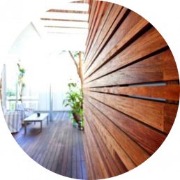 timber merchants sunshine coast -external cladding house side view