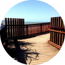 sunshine coast timber supplier - beach deck