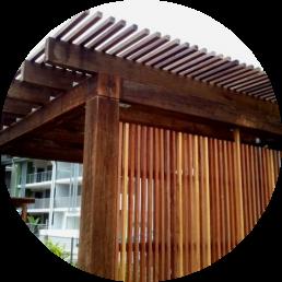 timber merchants sunshine coast - cladding on building