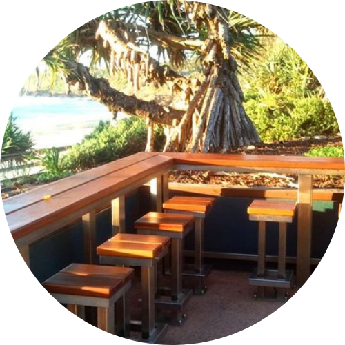 Certified Timber south brisbane - bar deck combo