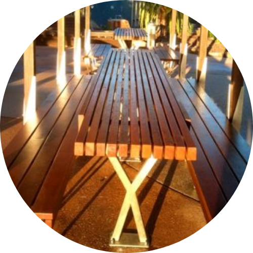 certified timber supplier sunshine coast - timber table