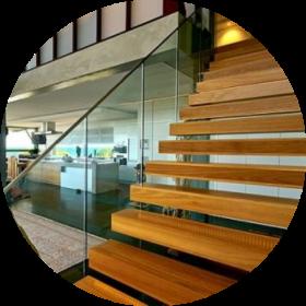 timber flooring - timber stairs